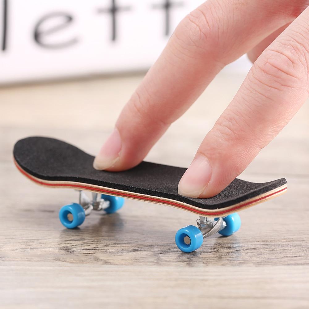 Pu maple wood cute party favor kids children mini finger board fingerboard skate boarding toys - Tech deck finger skateboards ...