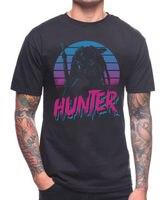 Hunter T Shirt Predator Film Movie Scfi Schwarzenegger Cult 80 S