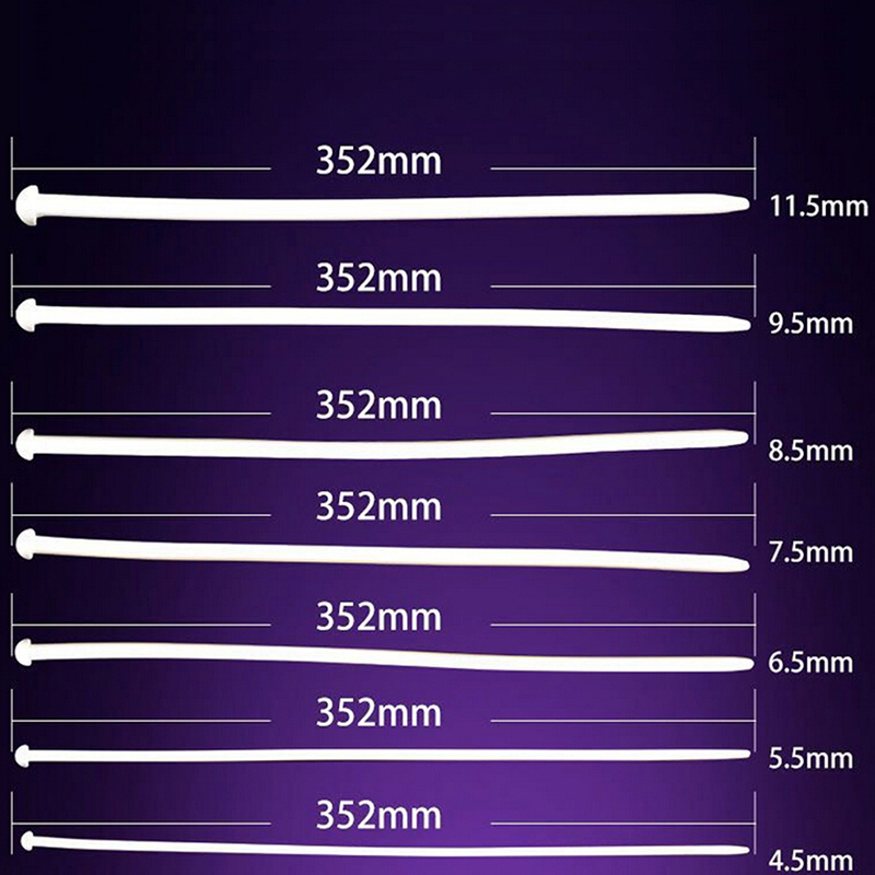 White Male Silicone Catheter Penis Plug Stretching Chastity Device Urethral Dilators Urethral Sounds 4.5mm-11.5mm
