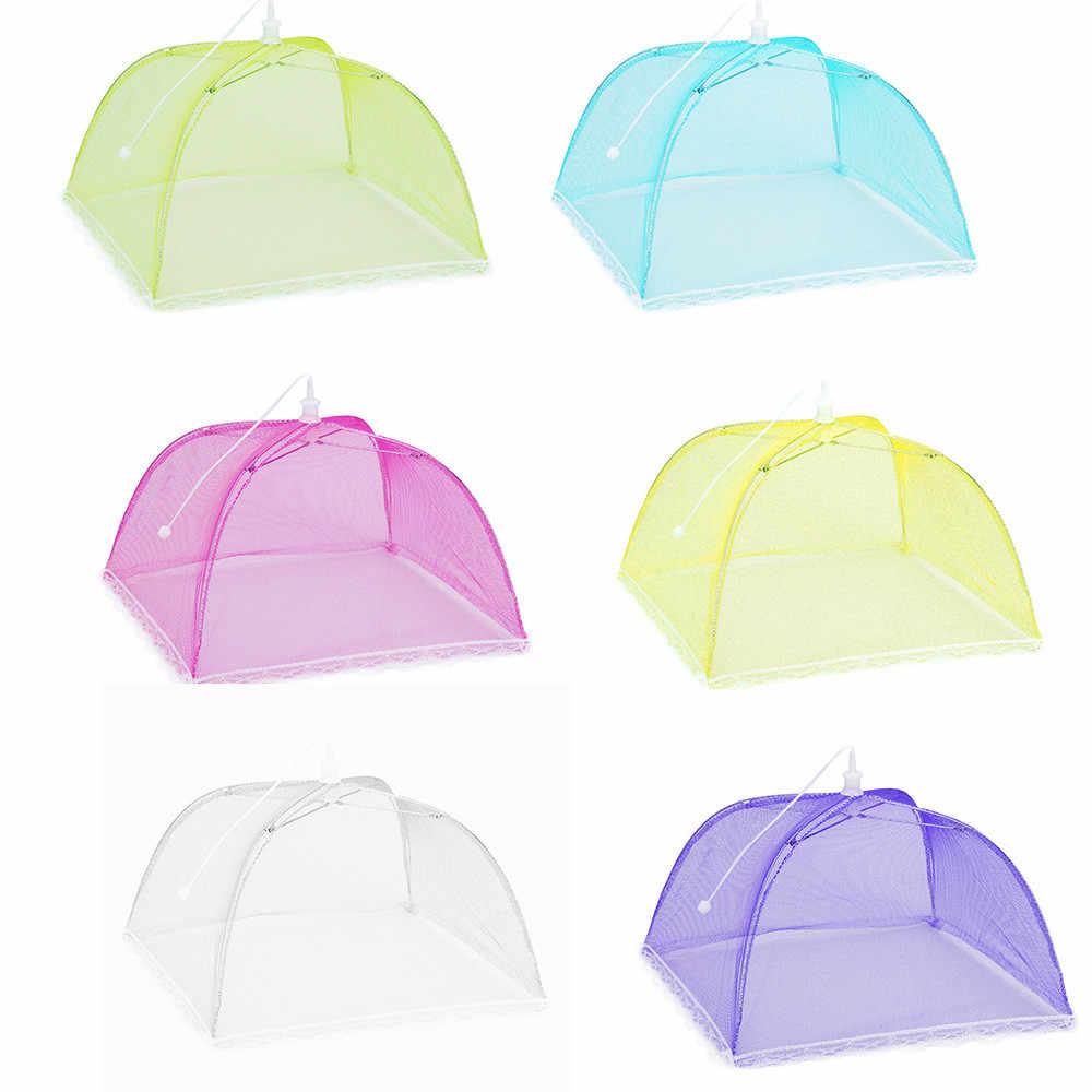 2018 Новый 1 шт. большой Pop-Up сетки Экран защиты Еда покрова палатки купол нетто зонтик Пикник # NE824