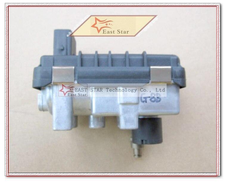 Turbo électronique Actionneur wastegate G-88 G-088 767649 6NW009550 787556 BK3Q6K682PC Pour Ford Transit 2.2L TDCI DuraTorq Euro 5