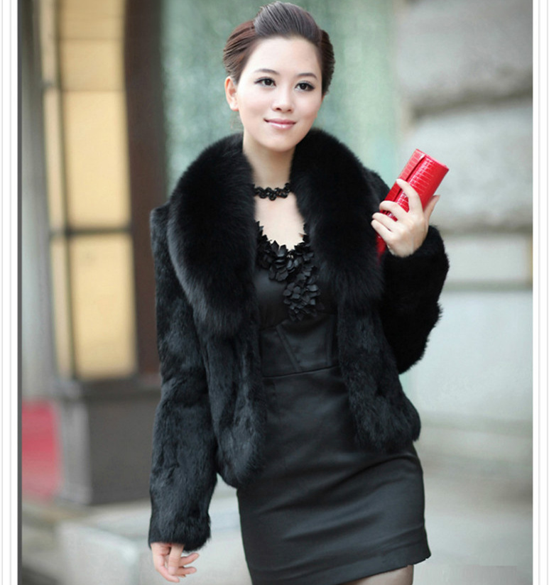 Aliexpress.com : Buy Plus Size Winter Women Short Fur Coat Long ...