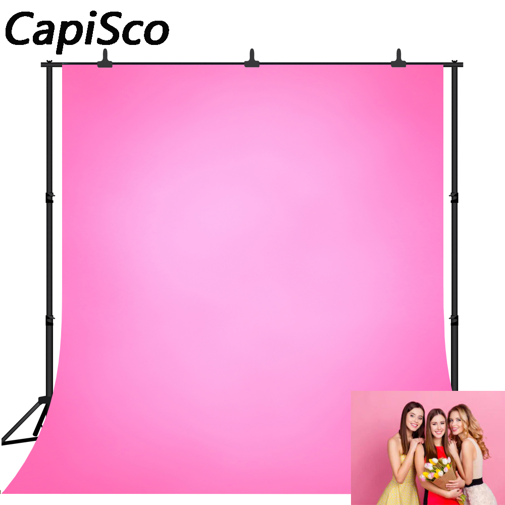 Capisco Solid Gradient Pink Baby Child Birthday party Photography Background wedding Photographic Backdrops For Photo Studio