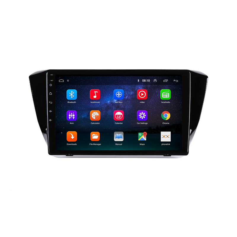 """Cheap 10.1"""" 2.5D IPS Android 8.1 Car DVD Multimedia Player GPS For Skoda Superb 2016 2017 2018 audio car radio stereo navigation 1"""