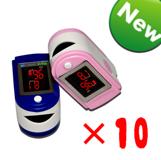 Fingertip Pulse Oximeter SPO2 Monitor Free Shipping by Airmail 6 Colors For You Choose 10pcs/pack