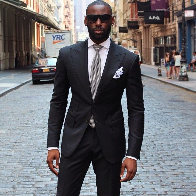 Aliexpress.com : Buy 2017 Latest Coat Pant Designs Black Men Suit ...