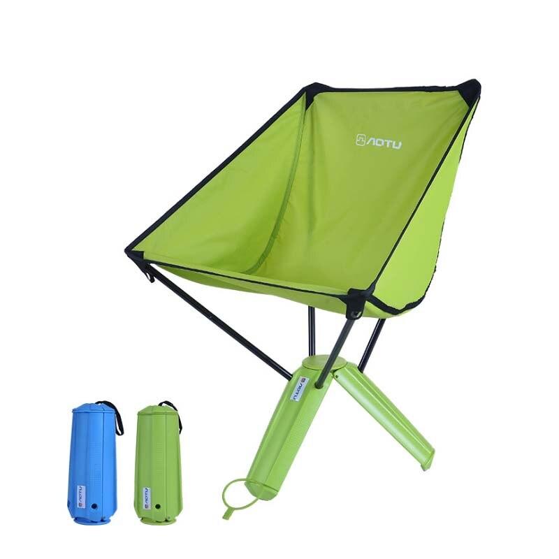 New Tripod Folding <font><b>Chair</b></font> Ultra Light Folding Fishing <font><b>Chair</b></font> Seat for Outdoor Camping Leisure Picnic Beach <font><b>Chair</b></font> SS