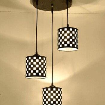 Restaurant Lustre Moderne Minimaliste Trois Créatif Table Lampe Personnalité Salle à Manger Salon éclairage LL03151425