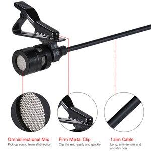 Image 3 - AriMic çift kafa klip yaka mikrofonu yaka mikrofonu çok yönlü kondenser kayıt mikrofon iPhone samsung için DSLR kameralı telefon