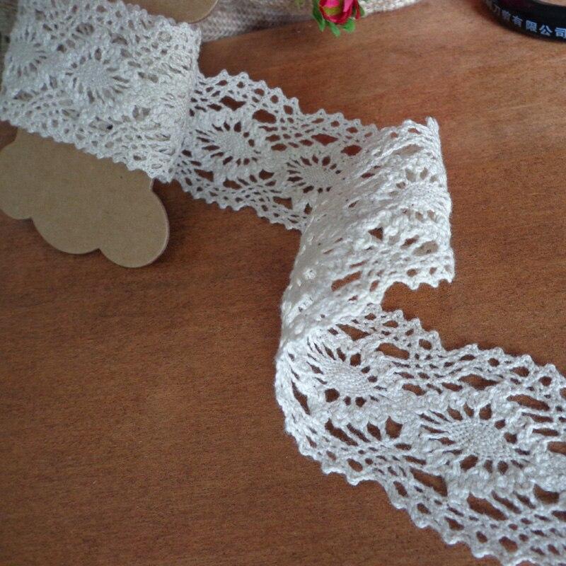 10m Snowflake Ribbon Embroidered Silver Trim Wedding Xmas Decor Applique DIY