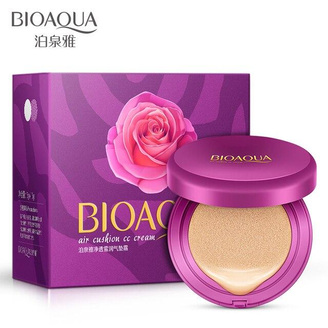 2016 новый макияж продукт 15 г + 15 г получить один бесплатный BIOAQUA BB/CC подушка отбеливающий крем корректор увлажняющий и увлажняющий