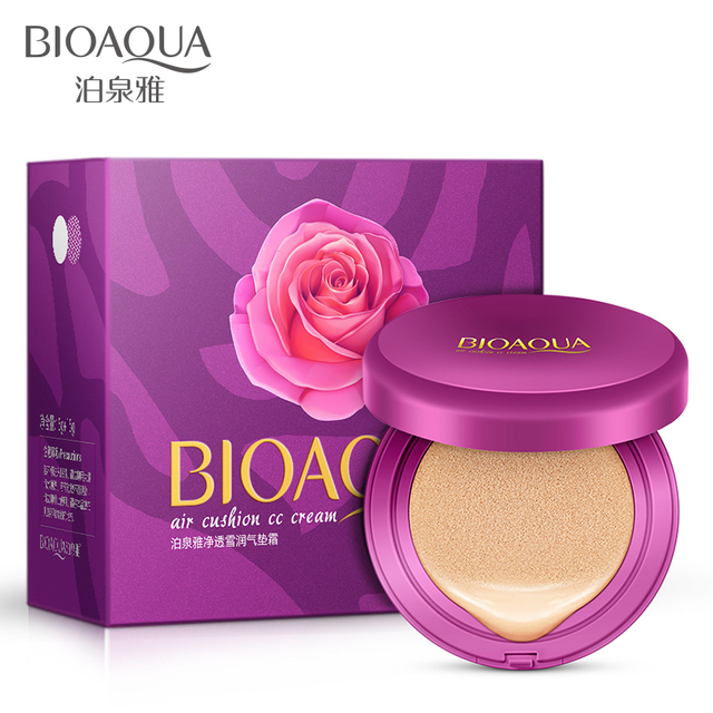 2016 new make up product 15g+15g get one free BIOAQUA BB/CC cushion whitening cream Concealer moisturizing and hydrating