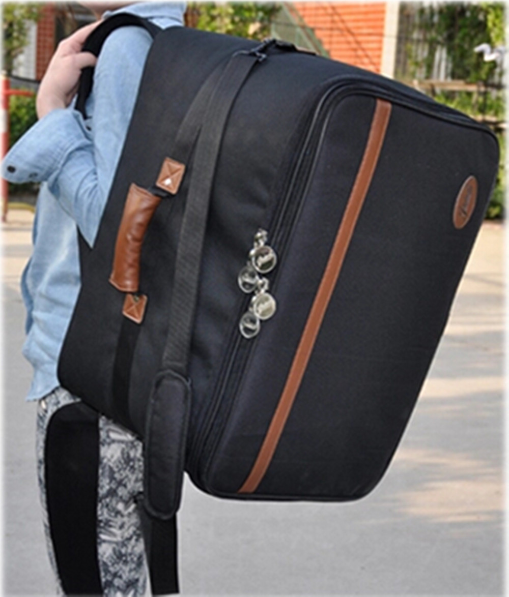 Wholesale professional portable thicker waterproof Cajon wooden drum bag instrument cases soft gig padded backpack straps padded 90cm professional portable bamboo chinese dizi flute bag gig soft case design concert cover backpack adjustable shoulder strap