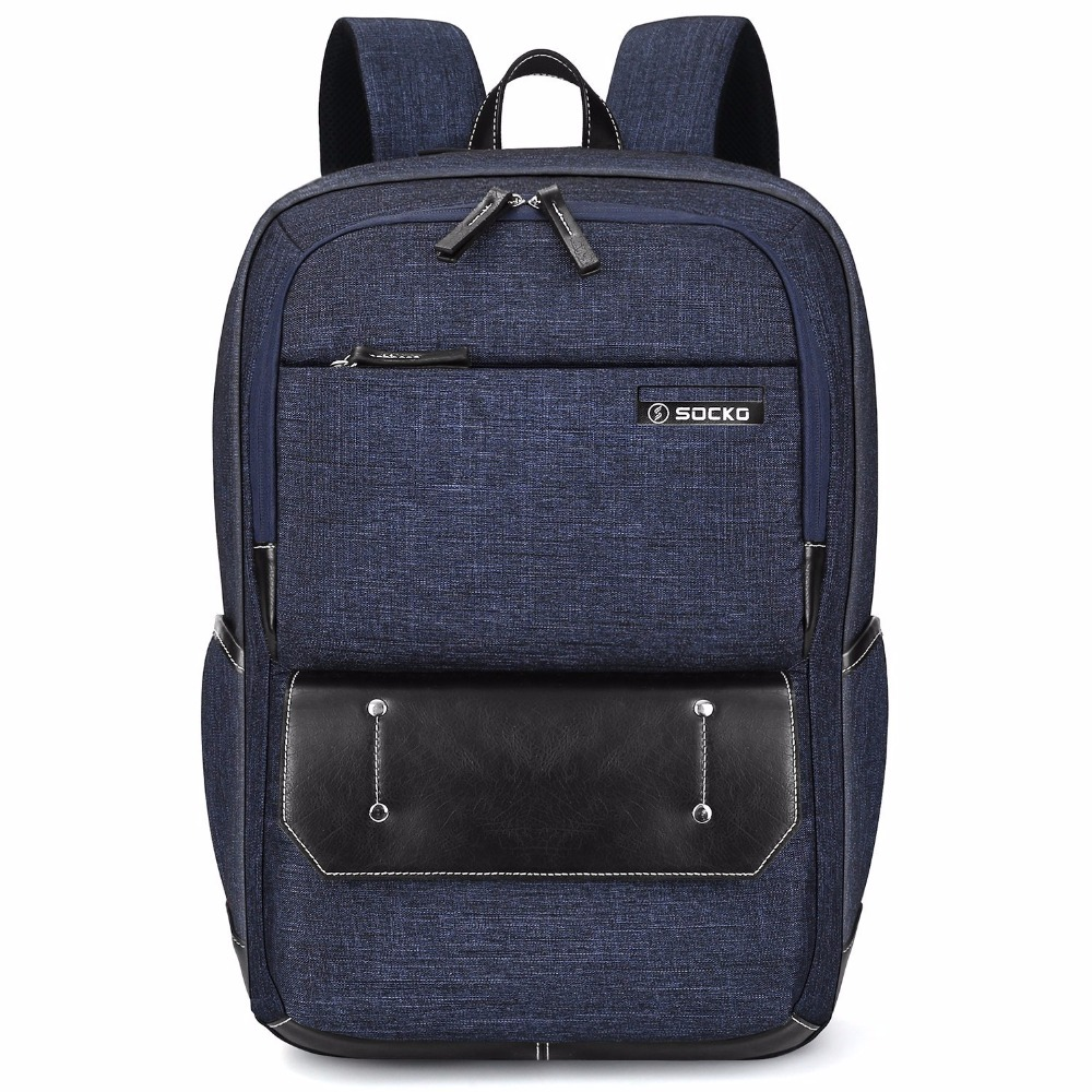 17.3 inch Men Laptop Backpack Knapsack Rucksack Women Casual Notebook Bag Lightweight School Backpack For Macbook / Chromebook