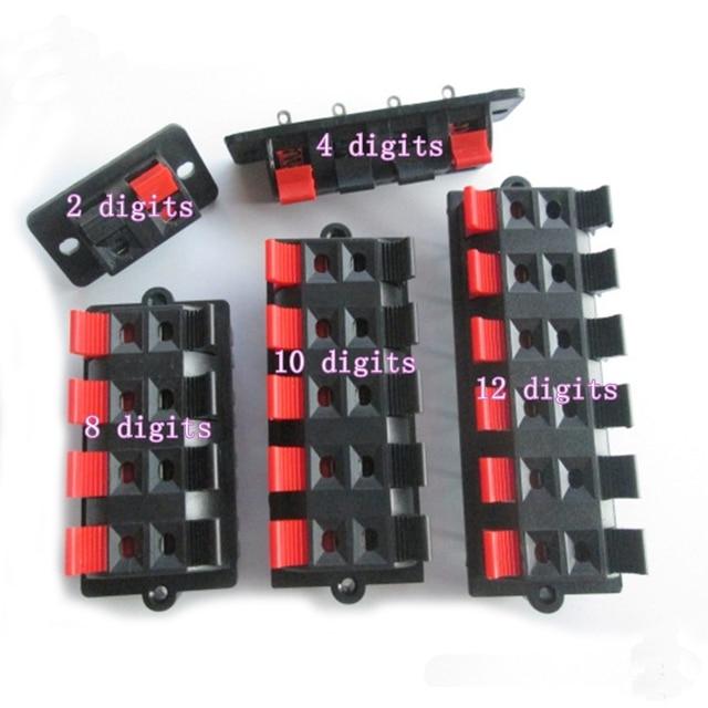 Red and black spring terminal block 2 rows of 8 10 bit 12 bit 1 row_640x640 speaker wiring block wiring diagram name