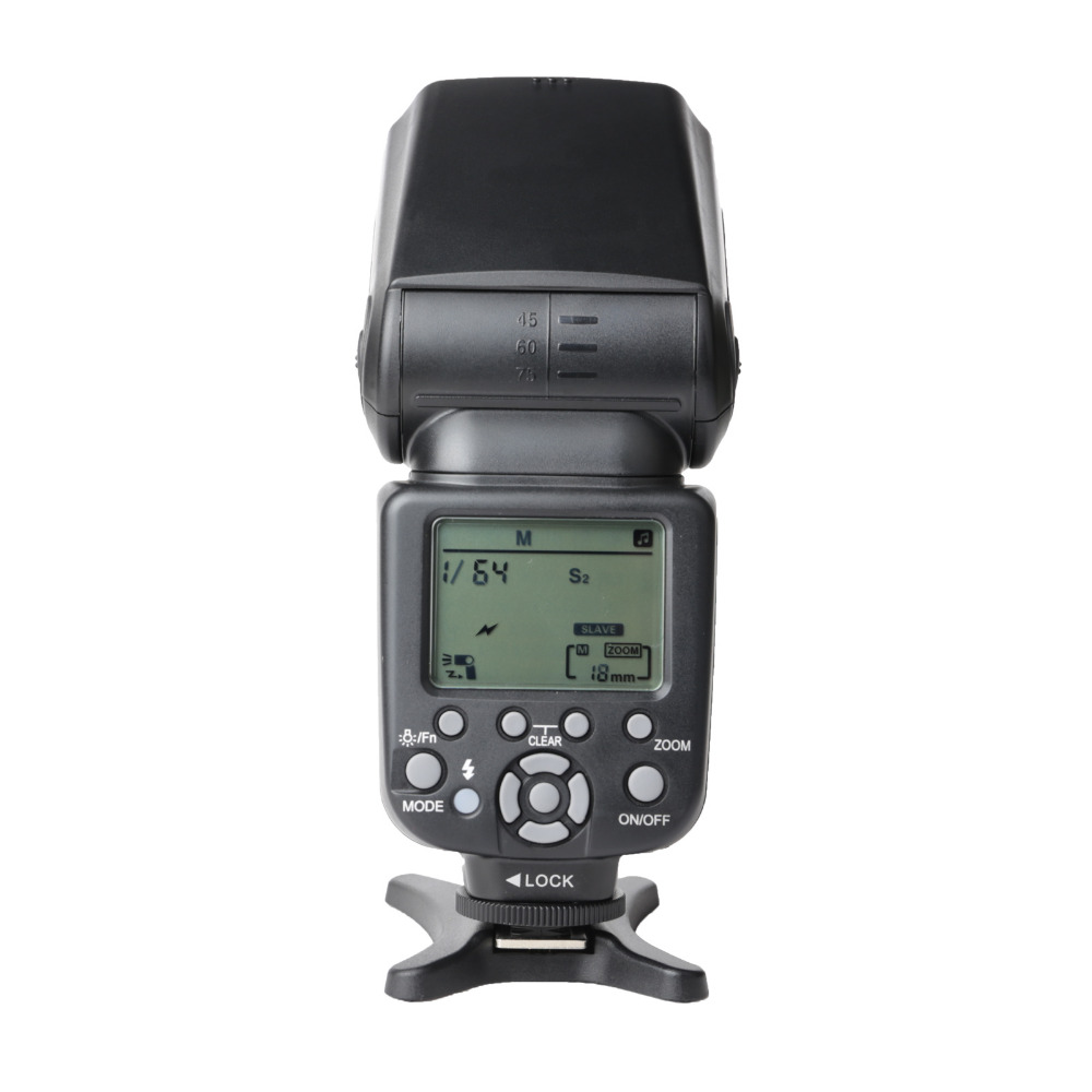 F16772 Zomei ZM860T LCD Display TTL High Speed Speedlite Speedlight Flash Light for DSLR Digital Camera 700D 60D 70D D7100 new pre zomei brand camera flash speedlight with lcd screen zm860t for canon nikon special price