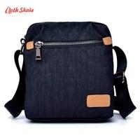 Cloth Shake Small Bags Waterproof Nylon Oxford Cloth Travel Bag Fashion MINI Men Shoulder Bags Casual
