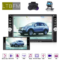 LTBFM 7 HD Car Stereo Touch Screen Autoradio 2 Din Car Radio Bluetooth Multimedia MP5 Car Video Player With Rearview Camera