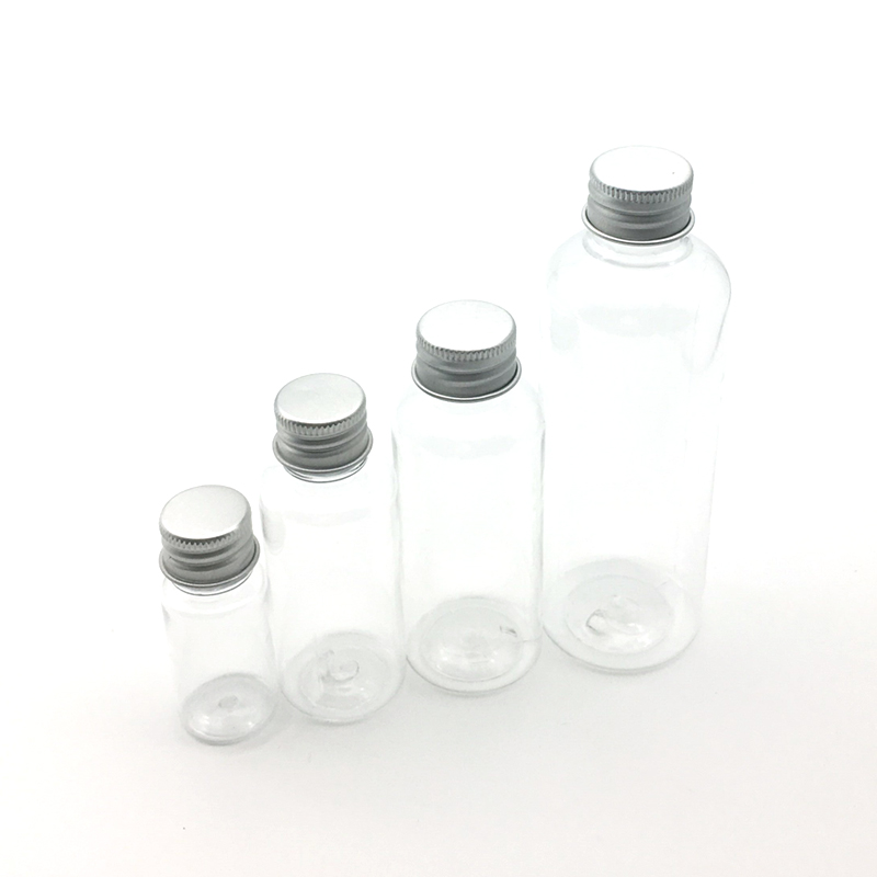 10PCS 10ML 30ML 50ML 100ML Cream Lotion Cosmetic Container Travel Kits Empty Small Plastic Bottle With Screw Cap