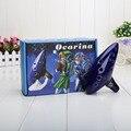Azul 12 Buracos Alto C Ocarina Kiln-demitido Cerâmica Legend of Zelda Zelda Ocarina Of Time Flute