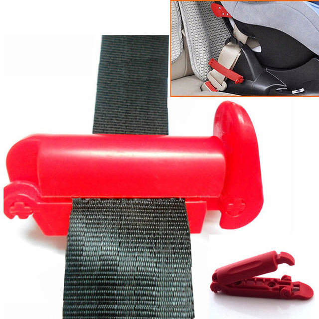 Youwinme Car Baby Safety Belt Buckle Lock Fixed Non Slip Strap Clamp Clip Auto Seat