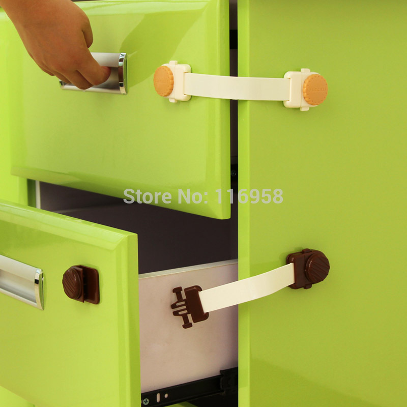 Types of cabinet locks baby cabinets matttroy for Child lock kitchen cabinets
