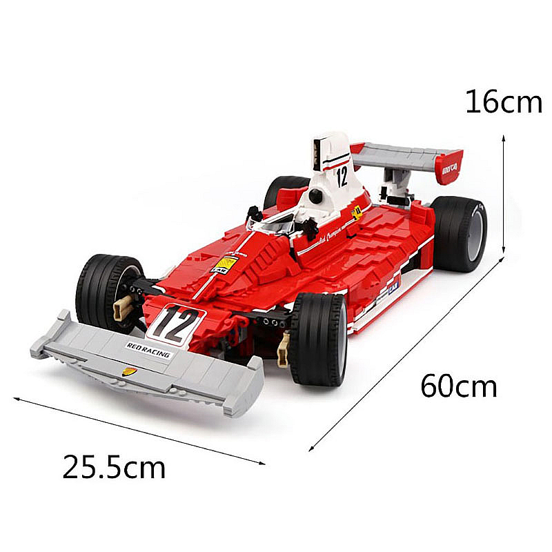 Technic F1 Race Gp Ferrari 312 T2 Niki Lauda Car Building Blocks Bricks Model Ebay