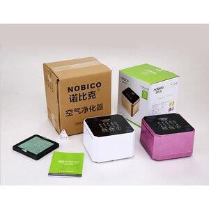 Image 5 - Nobico Negatieve Ionen Generator Luchtreiniger Voor Thuis Met True HEPA Filter Desktop Mini Air Ionisator Compact Air Cleaner voor thuis