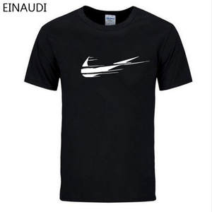 EINAUDI 2018 Tee T shirts Man 100% Cotton Tshirt T-shirt