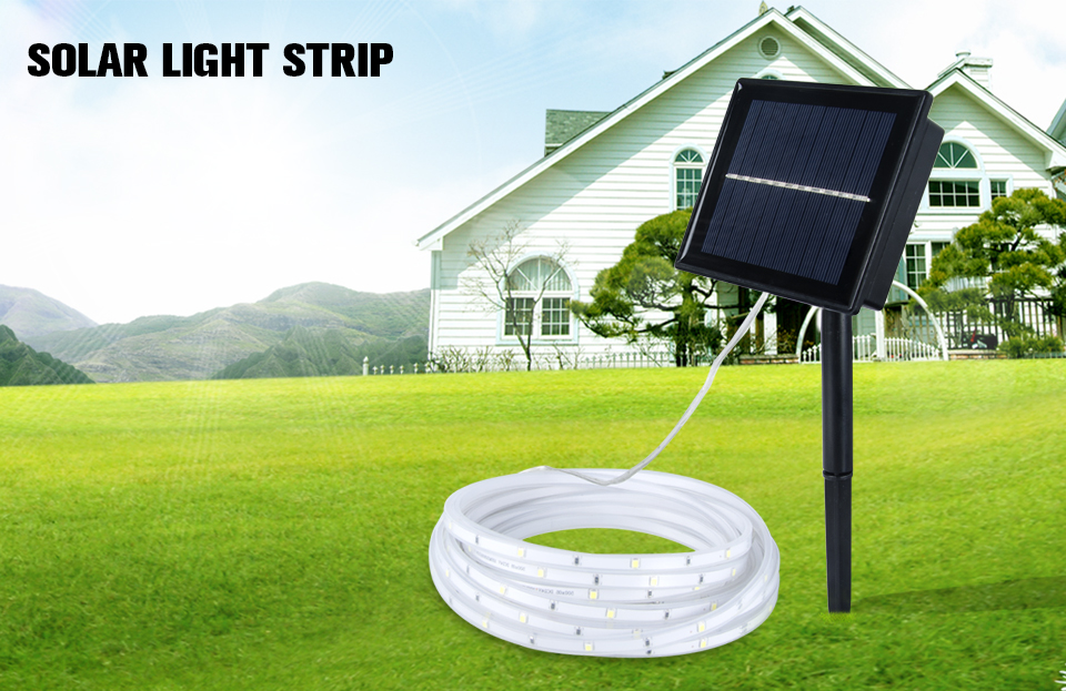 RGB LED Solar strip light (1)