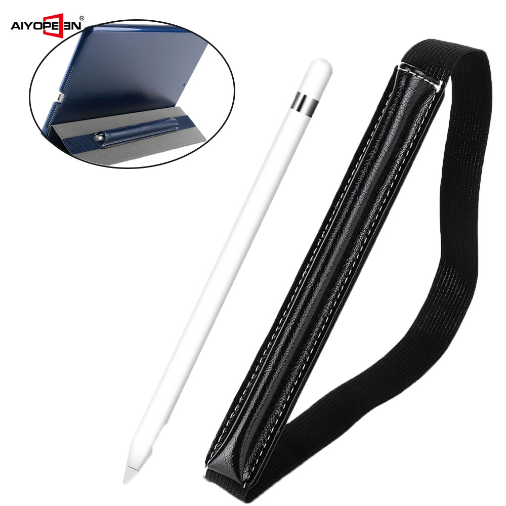 Touch Pen Leather Case For Apple Pencil Bag Holder PU Leather Tablet Pen Case For ipad 7.9 9.7 10.5 12.9 Pen Protective Cover цена