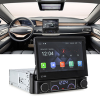 Zeepin 1 Din 자동차 DVD 플레이어 안드로이드 6.0 개폐식 자동차