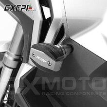 Für HONDA X ADV 750 XADV 2017 2018 Motorrad CNC Fallen motor Schutz Rahmen Slider Verkleidung Schutz Anti crash Pad Protector