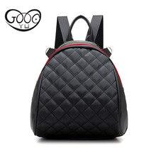 GOOG. Ю. ткань Оксфорд сумки на ремне рифма простой мини рюкзак женщины Лента украшение многофункциональный водонепроницаемый мешок женщин