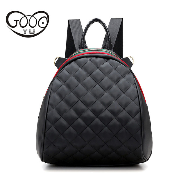 aa032874fc465 YU Oxford cloth shoulder bags rhyme simple mini backpack women Ribbon  decoration multi-functional waterproof women bag