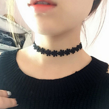 Sexy Black Velvet Lace Choker Necklace 8pcs