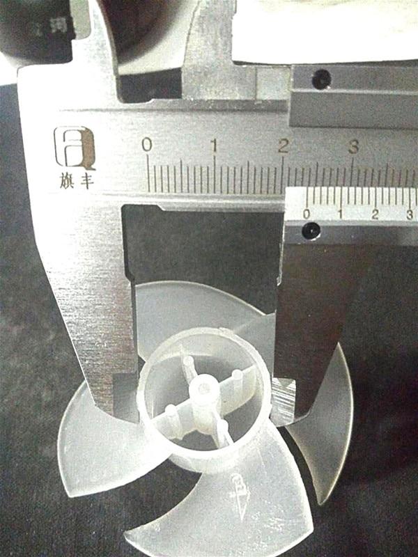 1 шт 4 лезвия пластиковая лопасть вентилятора для волос сушильное устройство с обдувом горячим воздухом Запчасти