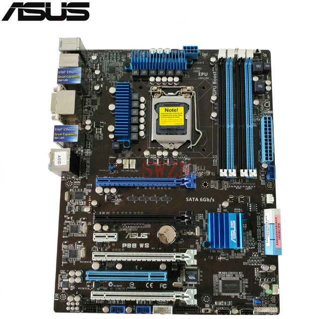 DRIVERS UPDATE: ASUS P8C WS MOTHERBOARD