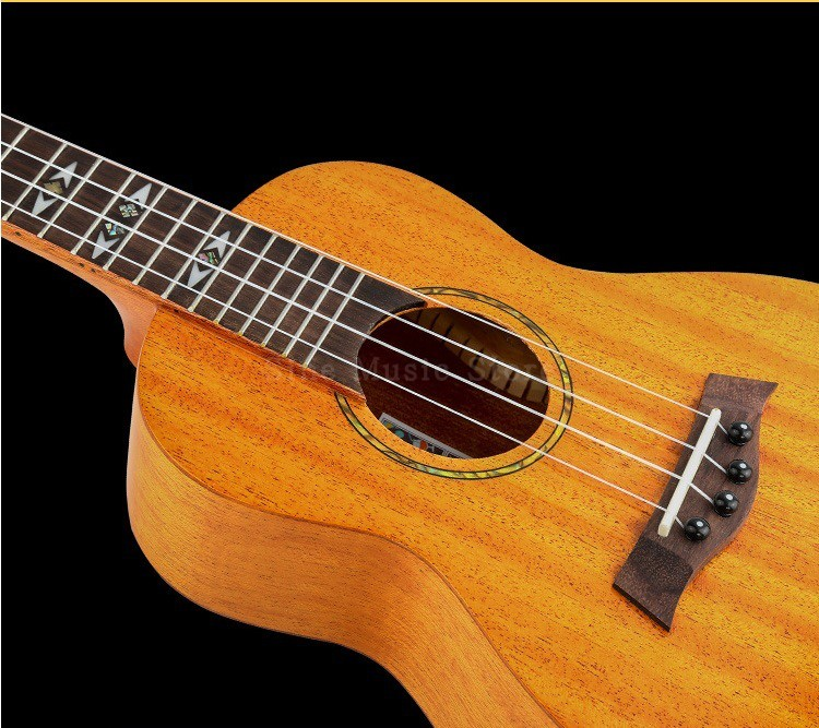 Ukelele String Tennor Mahogany 23 Inch Guitar 4 Strings Ukulele Bass Rose Wood Classical Guitar Hawaii Music Instrument moonembassy ukulele bass strings ubass string accessories