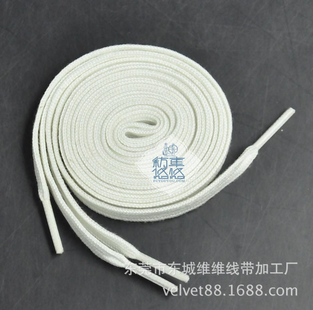 Dongguan Textile Accessories Flat Luminous Spot Laces, 0.8M Luminous Shoelaces