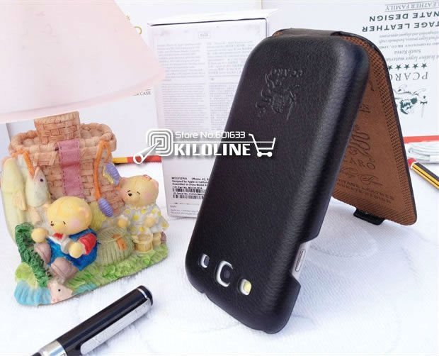 Original Pacro Genuine Cow Leather Case Cover For Samsung galaxy S3 i9300 -Free Shipping