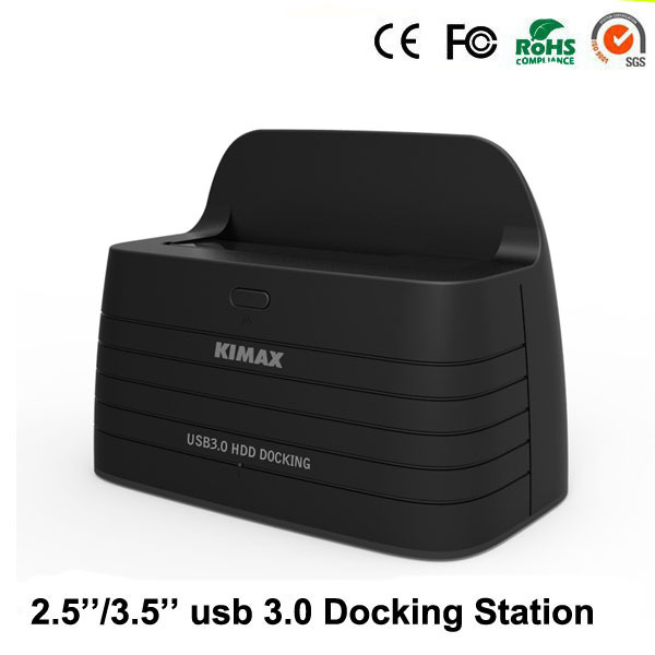 blueendless Docking station hdd 1-Bay per USB3.0 sata rack case for SATA suit for  Hdd ssd 6TB 2.5'' 3.5'' hdd bracket case HD08