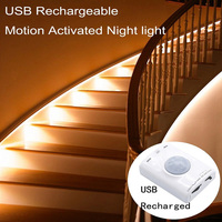 PIR Motion Sensor LED Strip Light Led Strip Christmas Lights Tape Lighting Creative Lamp For Hallway