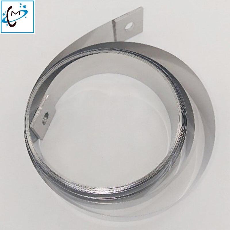 Large format printer Mutoh steel belt for Mutoh RH2 VJ1604 VJ1618 VJ1638 VJ1624 RJ8000 RJ8100 printer flat steel  belt 4.75MLarge format printer Mutoh steel belt for Mutoh RH2 VJ1604 VJ1618 VJ1638 VJ1624 RJ8000 RJ8100 printer flat steel  belt 4.75M