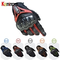 Motorcycle Gloves Outdoor Touch Screen Breathable Protective Gloves guantes moto Full Finger--Motorcycle Protective Gears