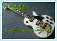 Wholesale Retail White Custom 22 Chinese LP Guitar Electric A Palm Top Guitar Body With Golden