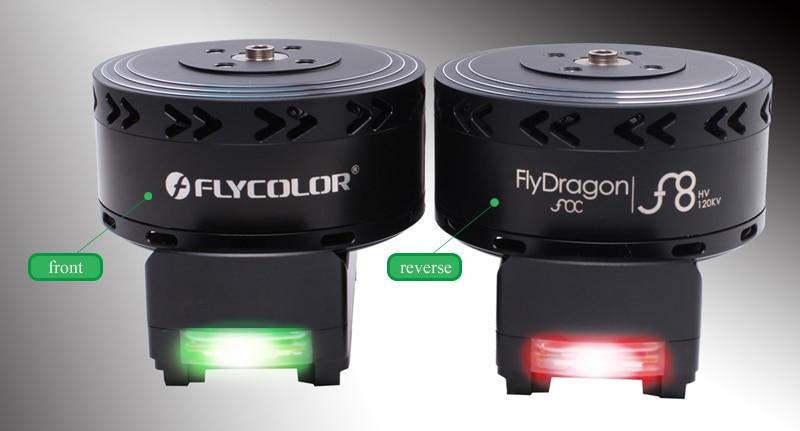 FlyDragon FOC F8 сельскохозяйственный Дрон, набор мощности, комбинированный w светодиодный светильник 8318 мотор 3095 Опора 80A ESC для сельского БПЛА - 5