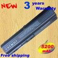 De bateria HP DV4 dv5 dv6 G50 G60 G70 HDX16 CQ45 CQ40 CQ41 CQ50 HSTNN-C51C HSTNN-Q34C pilha