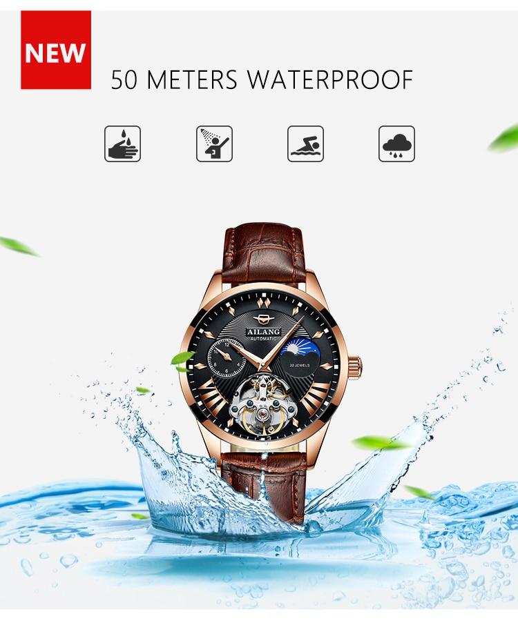 HTB1GbRDd.GF3KVjSZFvq6z nXXad AILANG Quality Tourbillon Men's Watch Men Moon Phase Automatic Swiss Diesel Watches Mechanical Transparent Steampunk Clock