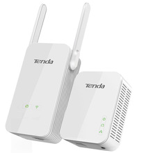 Tenda AV1000 Powerline Wi-Fi адаптер Комплект с Gigabit Ethernet Порты/Wi-Fi клон/дома Подключите AV2/Powerline 1000 Мбит/с + Wi-Fi 300 Мбит/с